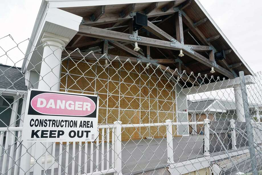 FEMA denied an appeal for funding reimbursements for the 2015 repairs to Penfield Pavilion. Photo: Genevieve Reilly / Hearst Connecticut Media / Fairfield Citizen