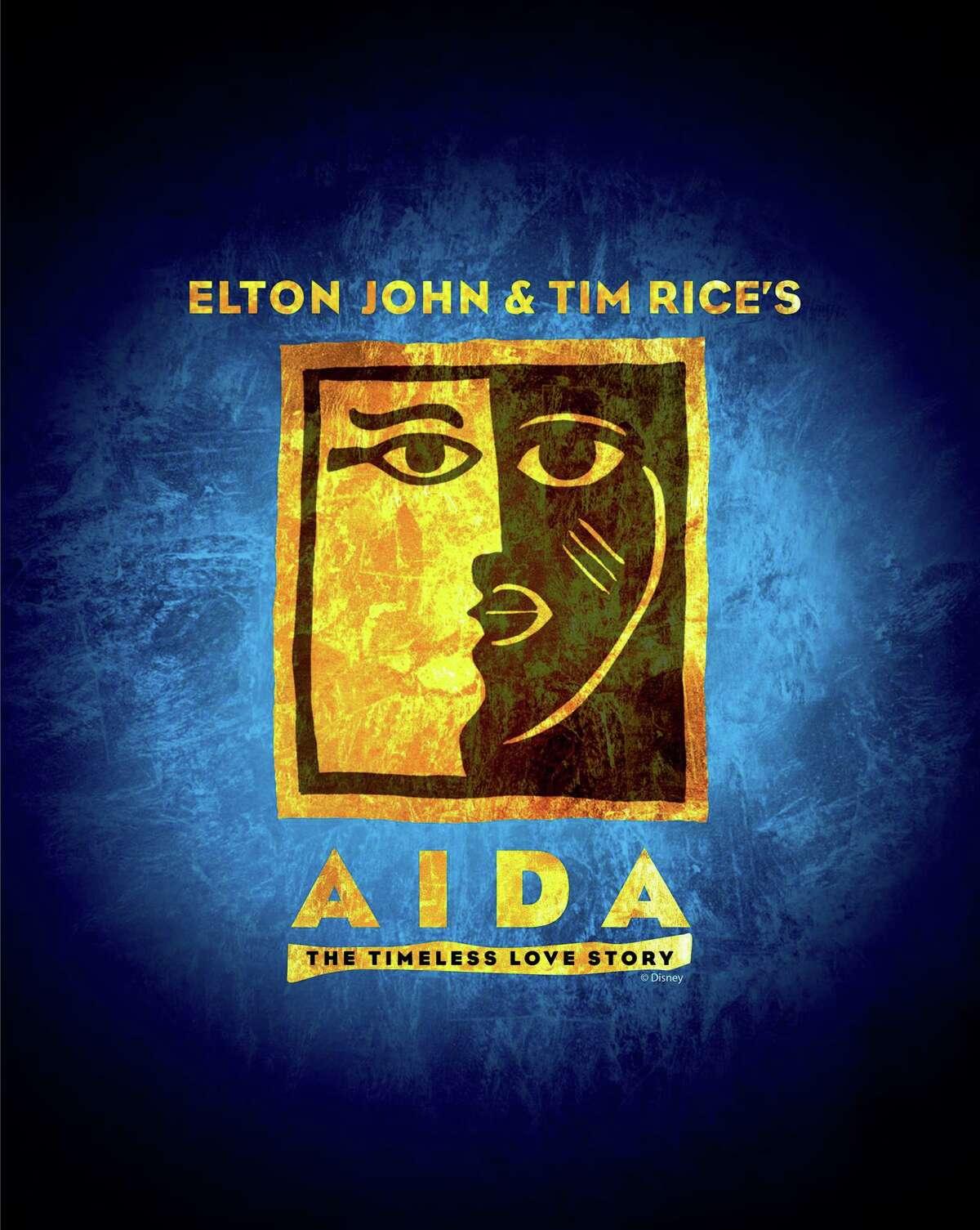 "Elton John & Tim Rice's ""Aida"" will be on stage October 11-27."