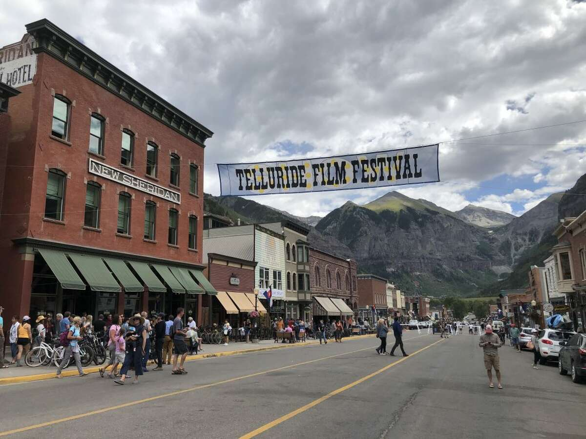 FILE - Organizers of the Berkeley-headquartered Telluride Film Festival announced on Tuesday that they had