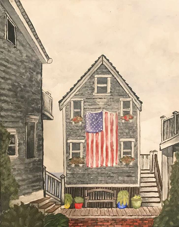 """Provincetown"" by Avery Morawa, one of the works in the New Canaan Society for the Arts Member Show at the Carriage Barn Arts Center. Photo: Morawa Avery / Contributed Photo / Copyright 2019. All rights reserved."