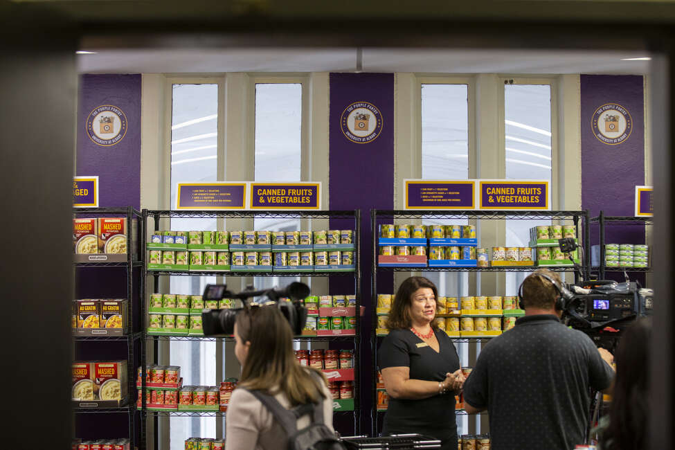 UAlbany held an opening ceremony for the Purple Pantry, a new on-campus food pantry at the University at Albany on Wednesday, September 4, 2019.