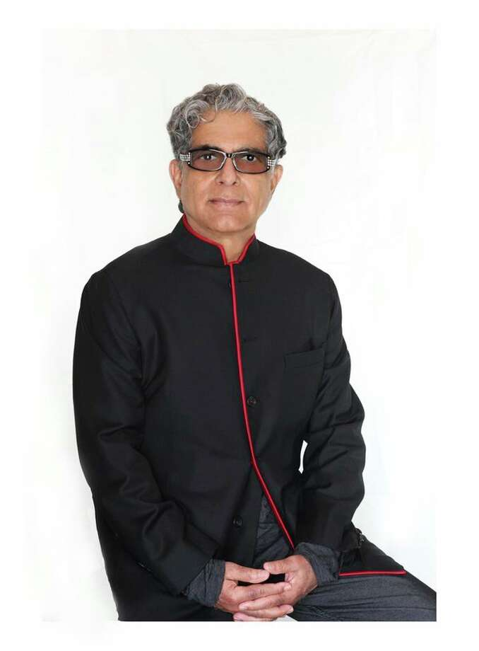 Deepak Chopra will speak Sept. 19 at the Temple Theatre in Saginaw. (Photo provided)