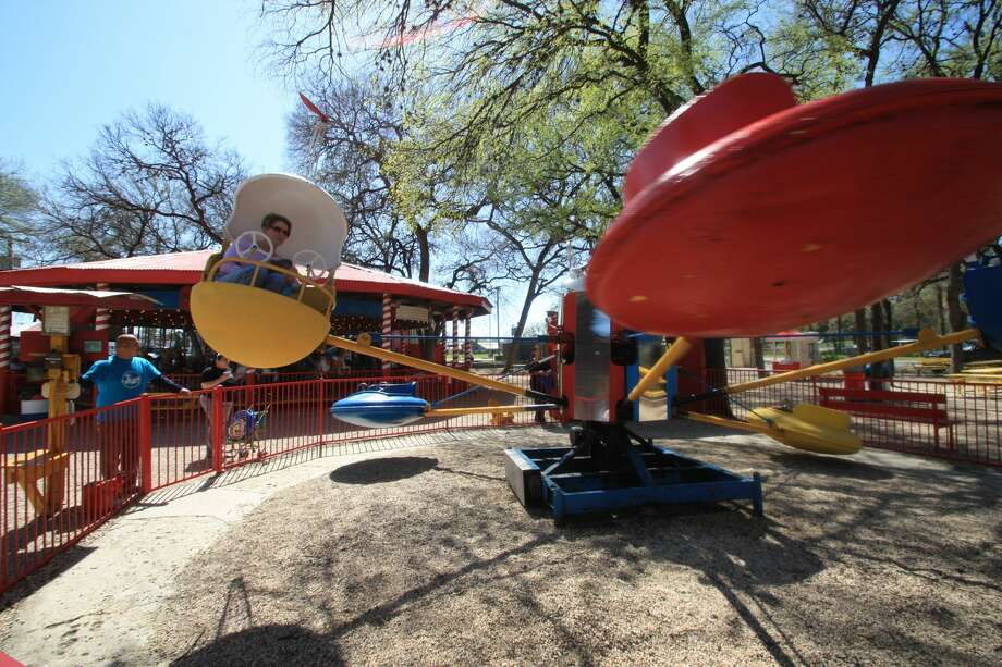 After relocating to San Antonio Zoo grounds, the city's iconic Kiddie Park will reopen this Friday. Photo: Courtesy, San Antonio Zoo