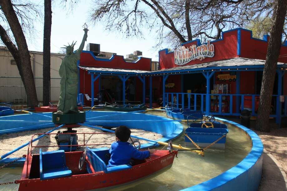 After relocating to San Antonio Zoo grounds, the city's iconic Kiddie Park will reopen on Oct. 18. Photo: Courtesy, San Antonio Zoo