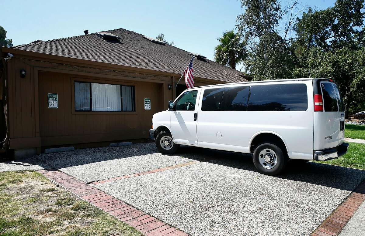 A shelter housing immigrant children who entered the country unaccompanied by adults is seen at Taylor Boulevard and Grayson Road in Pleasant Hill, Calif. on Wednesday, Sept. 4.