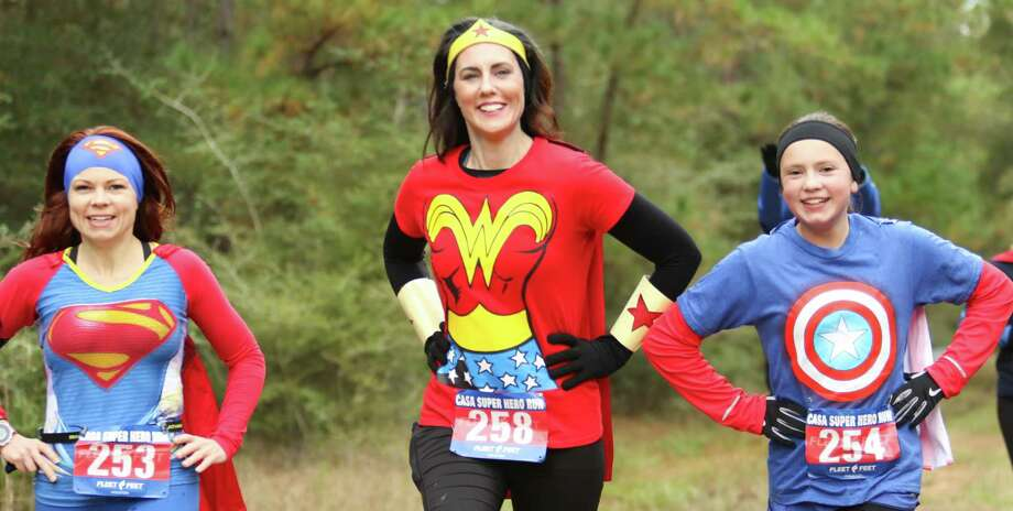 Everyday people can be heroes for kids in the foster system at CASA's annual fundraiser fun run. Photo: FOCUS The Woodlands Photography