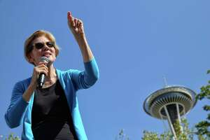 Hard to believe but Democratic presidential candidate Sen. Elizabeth Warren, speaking at a rally in Seattle, once agreed with Betsy DeVos about vouchers.