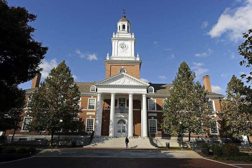 10 (tie). John Hopkins University - Baltimore, MD Source: U.S. News & World Report