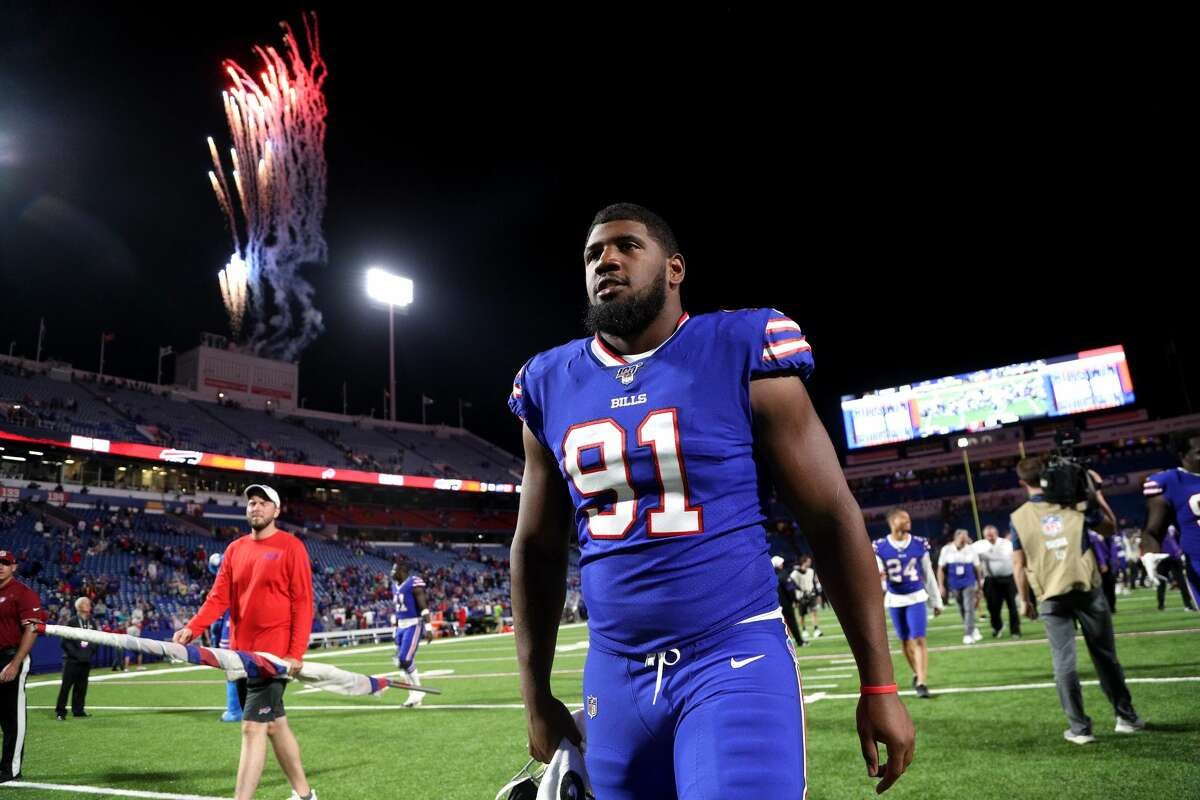 Defensive tackle Ed Oliver, the No. 9 overall pick, is set to begin his first season with Buffalo Bills.