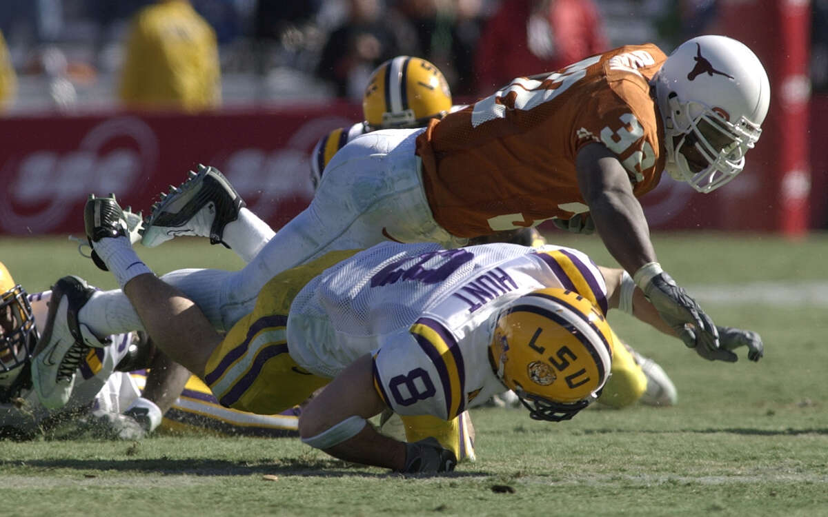 Texas and LSU haven't played a football game against each other since the 2003 Cotton Bowl. The teams then went on to win two of the next three national championships.