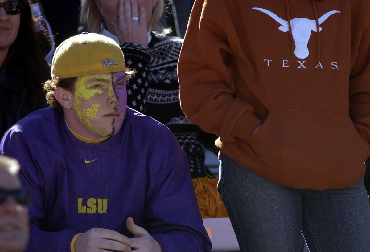 LSU did get to meet Texas in the 2003 Cotton Bowl.