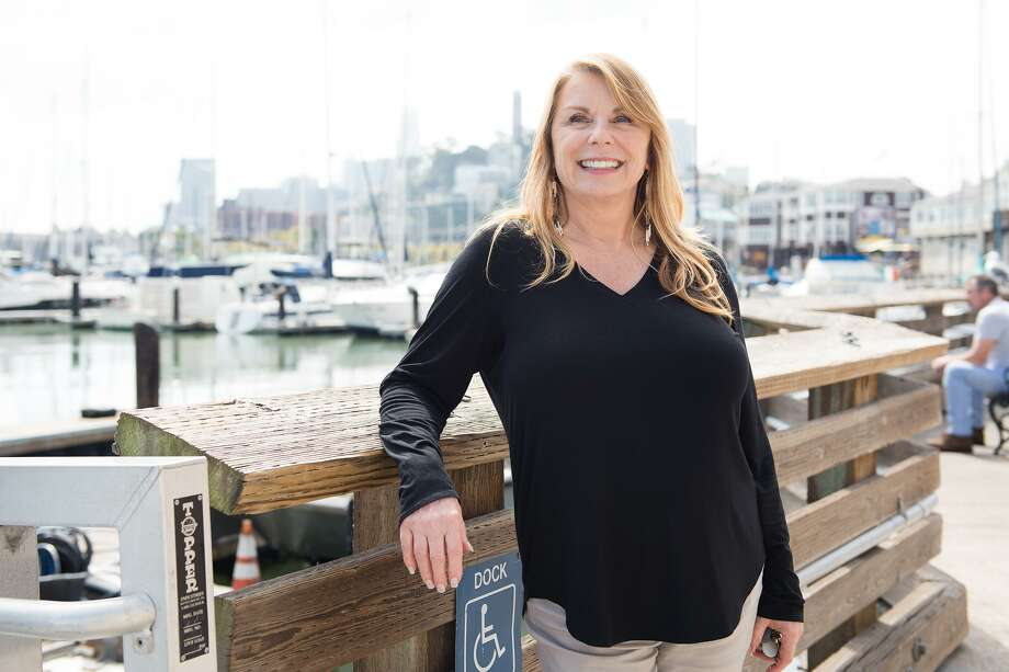 SheilaChandor, vice president of marine operations at Pier 39, has worked there for over 30 years. When she first arrived, the sea lions hadn't taken over the marina yet. Photo: Blair Heagerty / SFGate