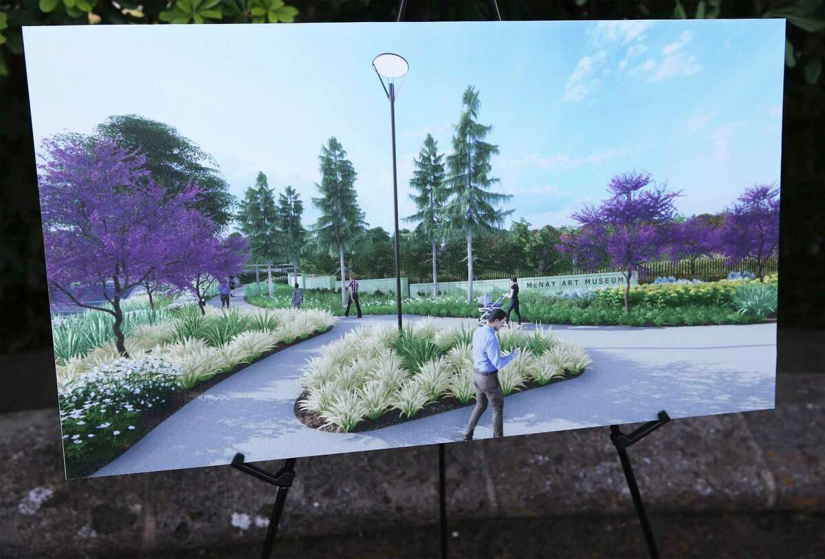 Renderings show the look of the new grounds as the McNay Art Museum announces a $6.25 million Phase 1 of a landscape master plan.