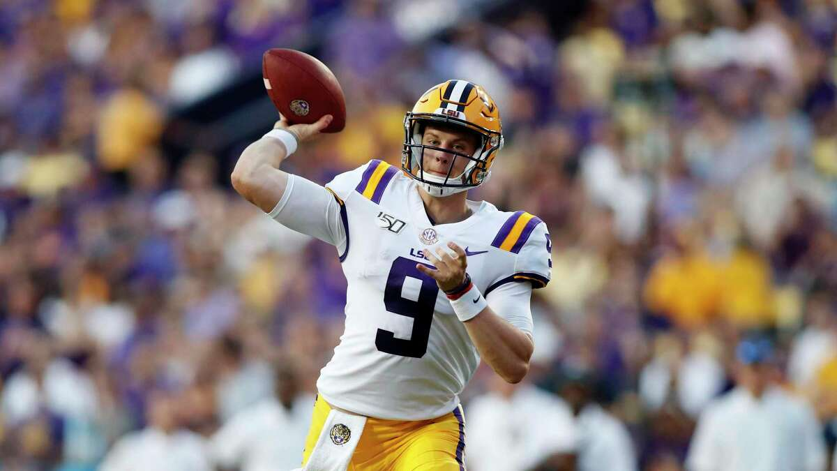 After things didn't pan out at Ohio State, quarterback Joe Burrow transferred to LSU, where last season he started all 13 games and captured Fiesta Bowl MVP honors.