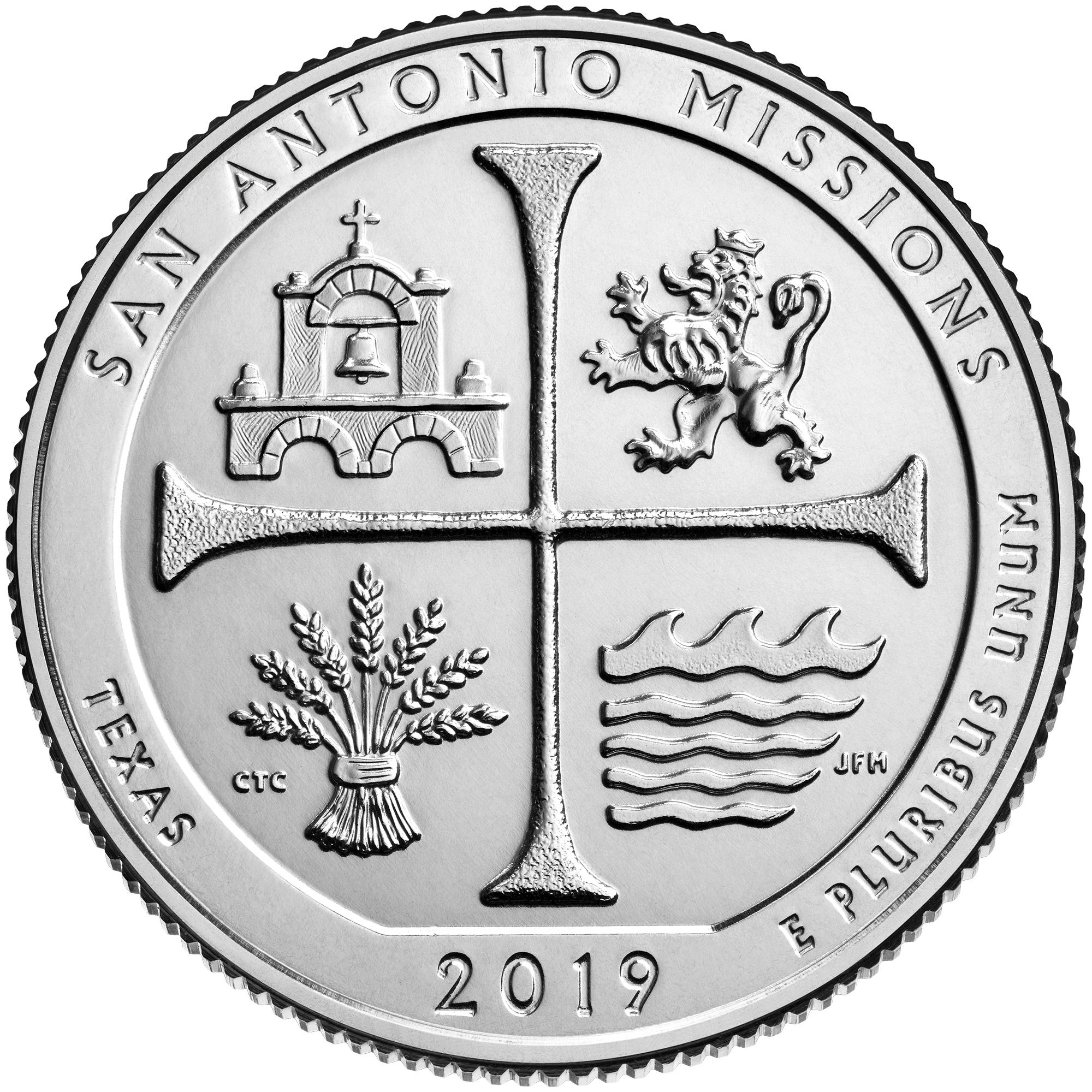 San Antonio Missions quarter to be released Thursday