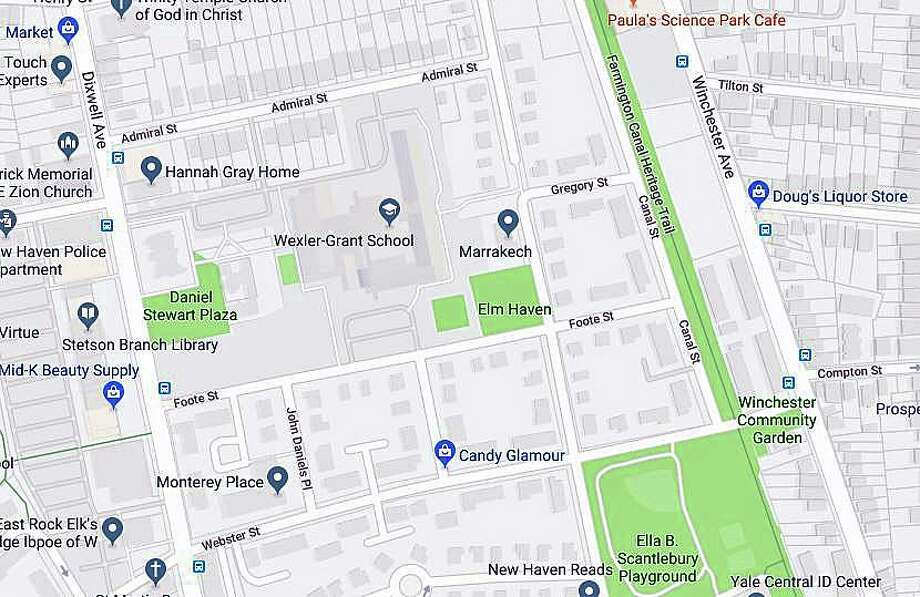 Two people were injured by gunfire in the area of Ashmun Street Wednesday night on Sept. 4, 2019, police said. The department's ShotSpotter system alerted to gunfire on Ashmun Street and Canal Street at about 8:06 p.m., police said. Photo: Google Map