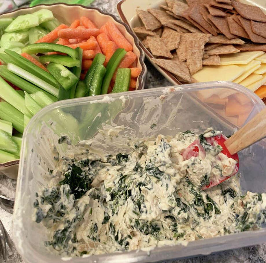 Knorr spinach dip Photo: (Vicki Bennington|For The Edge)
