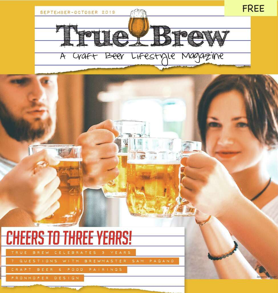 The cover of the September-October issue of True Brew magazine.