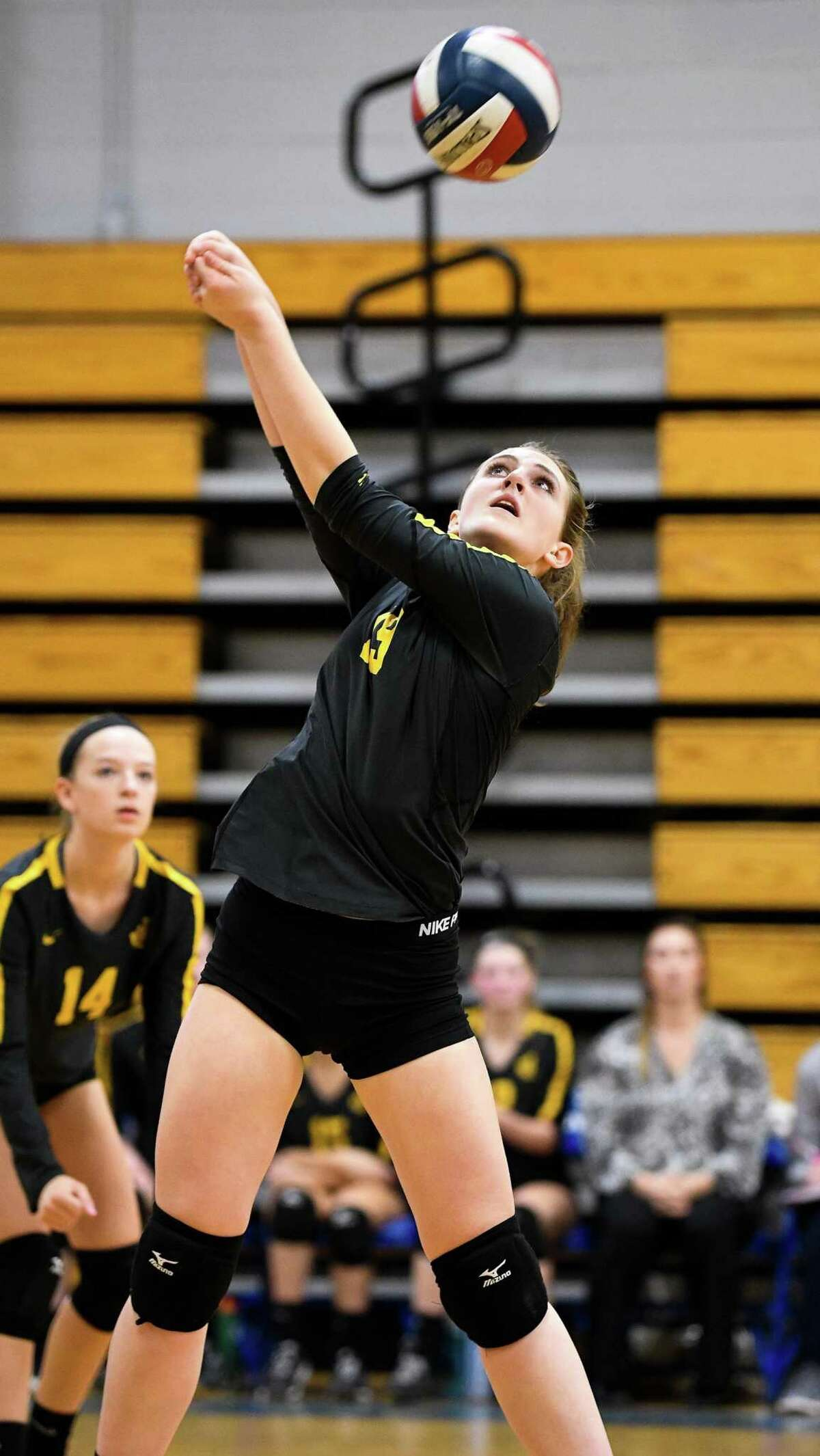 Jonathan Law's Maddie Lula will bring her versatile play to the court when the Lady Lawmen begin the 2019 campaign with a visit to Amistad Academy on Sept. 12.
