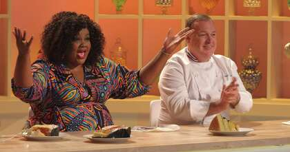 Nicole Byer, host of Netflix's 'Nailed It!', bakes a tasty