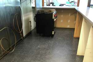 The Darien Depot recently got many upgrades, including a new kitchen floor.