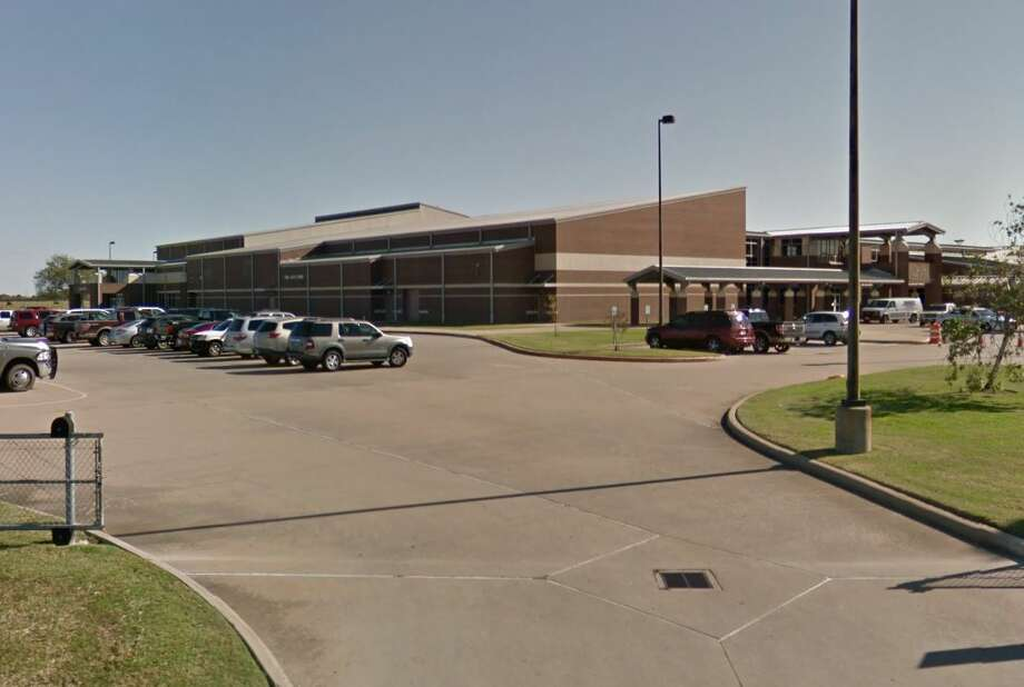 A 15-year-old Waller High School student is dead after being struck by a car outside the school, authorities say. Photo: Google Maps/Street View