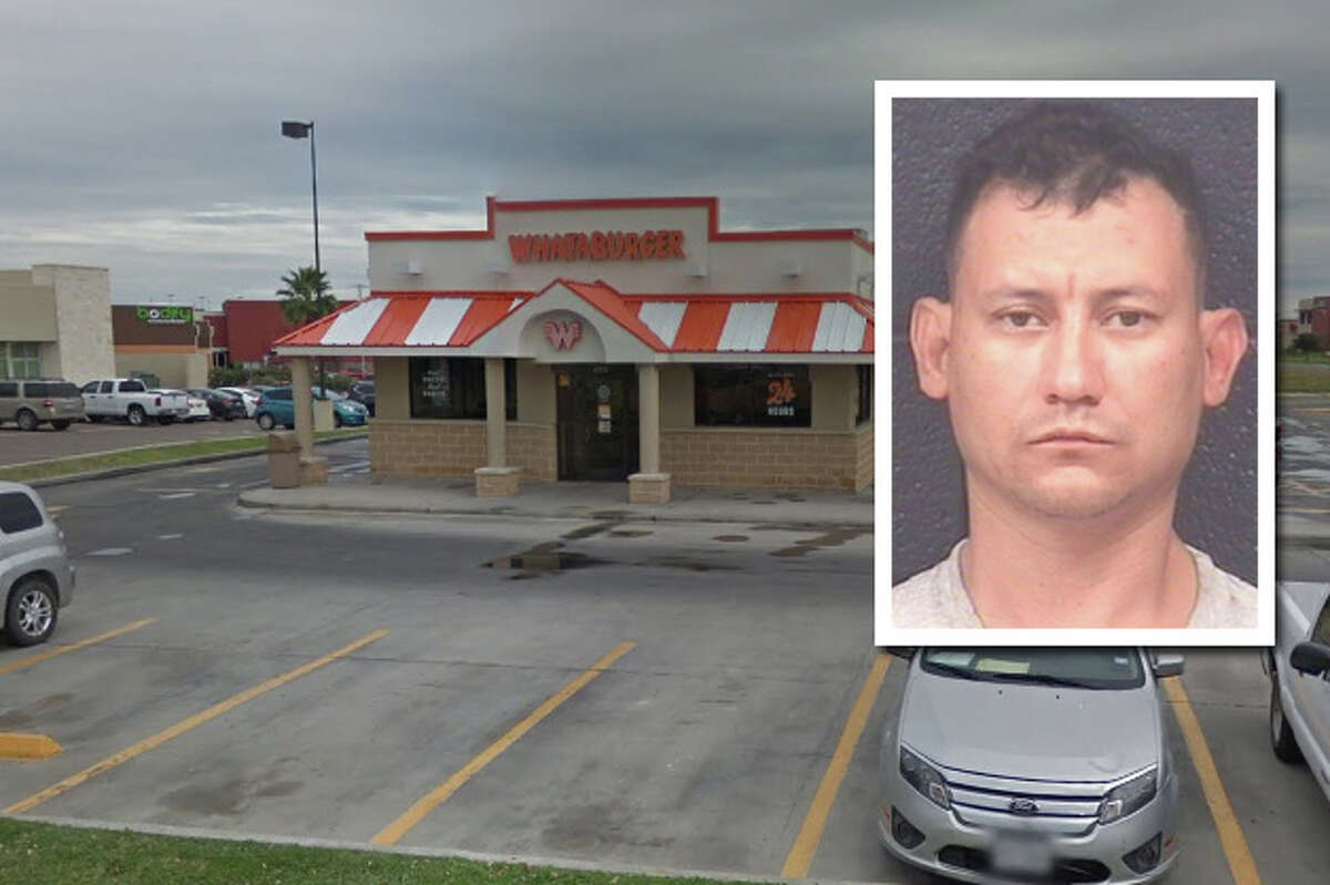 A man landed behind bars for allegedly stabbing two men and a woman at a Whataburger restaurant.