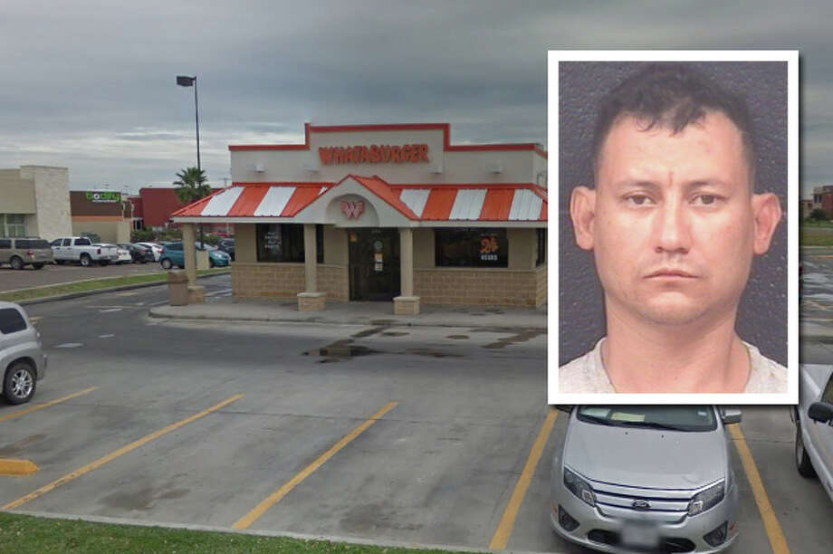 A man landed behind bars for allegedly stabbing two men and a woman at a Whataburger restaurant. Photo: Courtesy