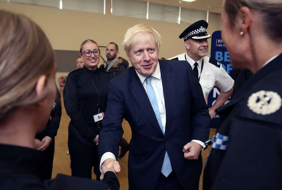 Boxed in by opponents and abandoned by his own brother, British Prime Minister Boris Johnson struggled to keep his Brexit plans on track. Photo: Danny Lawson / Associated Press