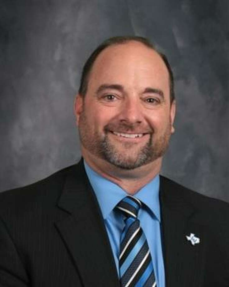 """La Vernia ISD Superintendent Trent Lovette has been accused of """"inappropriately touching"""" a La Vernia High School student during a football game last week in Sinton, according to Sinton police. Photo: La Vernia ISD"""