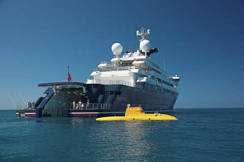 Paul Allen's 414-foot yacht, home to A-list parties, is