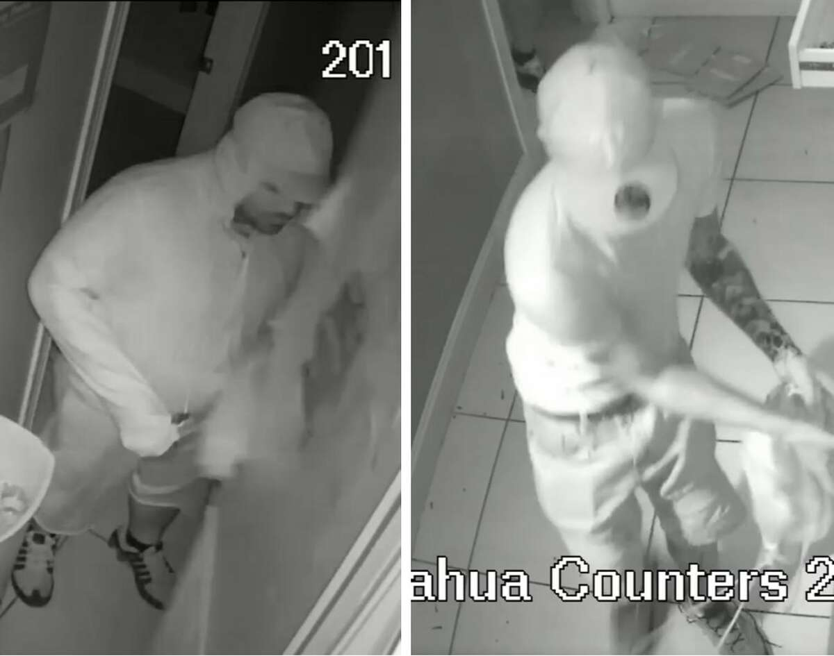 Laredo police said these two men are wanted for questioning in connection with a burglary that occurred in the 700 block of Chihuahua Street.