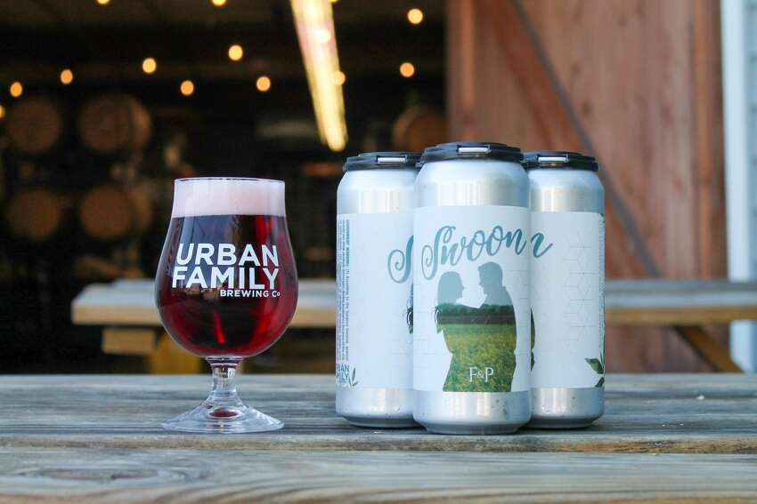 Urban Family Brewing Co: Because a wedding beer is picture perfect for a beer lover's holiday. They're releasing their cans by the name of