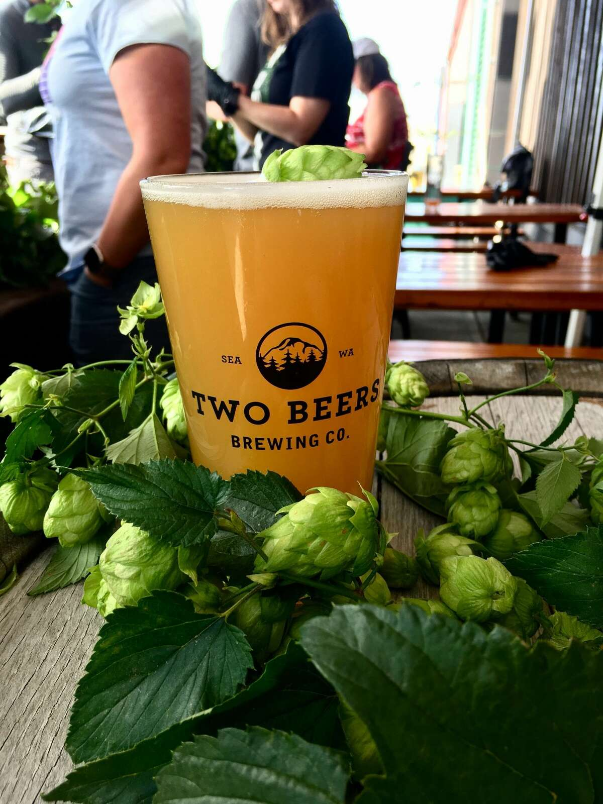 Two Beers Brewing Co, located at 4700 Ohio Ave. S., in Seattle, WA.