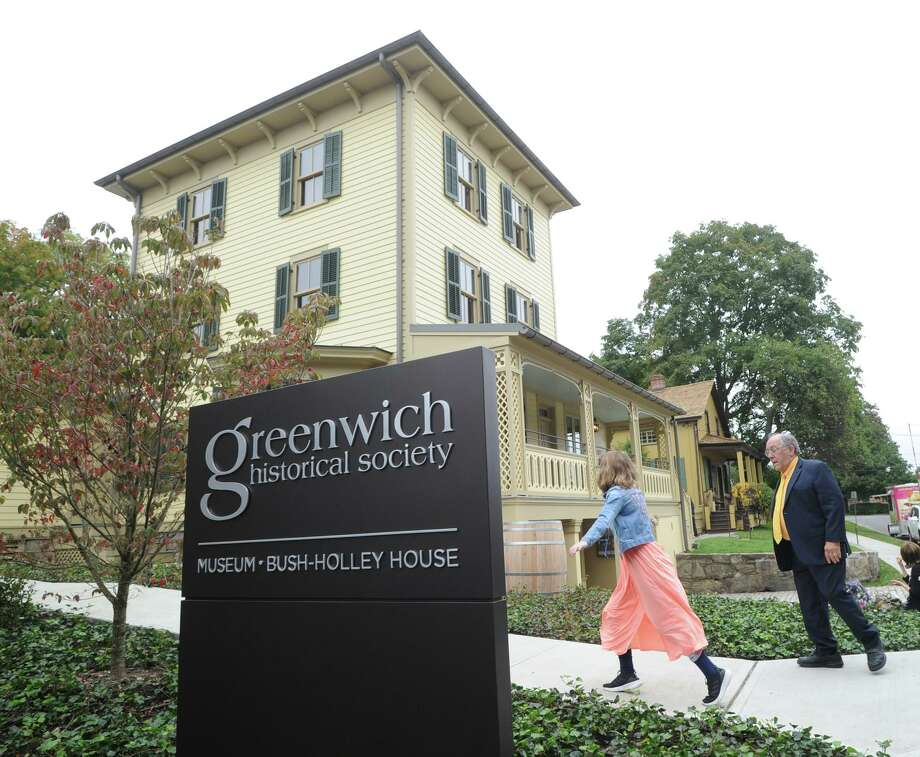 Opening day party celebrating the new campus of the Greenwich Historical Society in the Cos Cob section of Greenwich, Conn., Saturday, Oct. 6, 2018. Photo: File / Hearst Connecticut Media / Greenwich Time