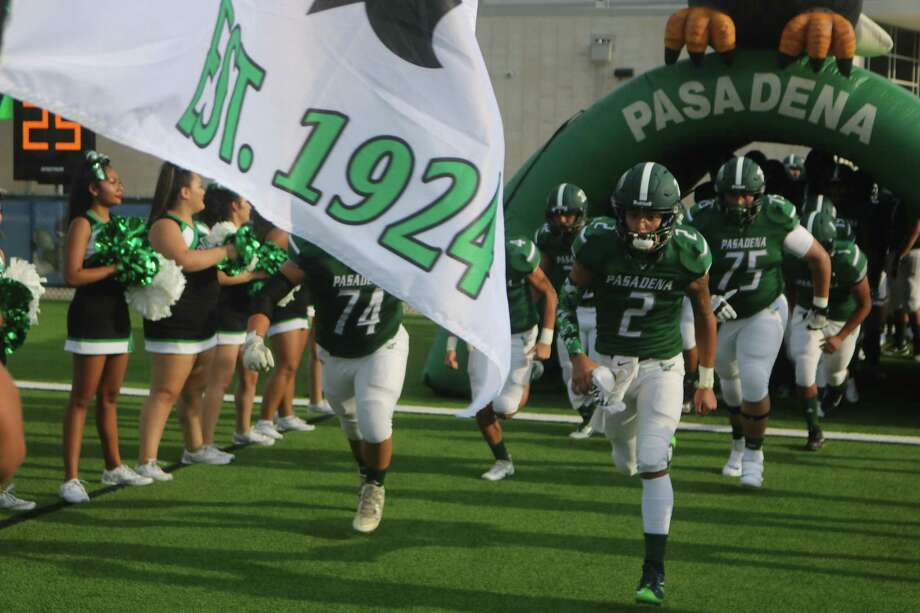 Pasadena will come out of its tunnel Friday night with the hopes of showing plenty of improvement before starting District 22-6A play next week. Photo: Robert Avery