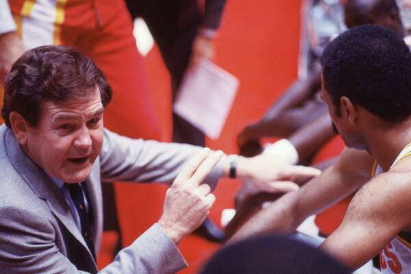 Bill Fitch, coaching the Rockets in 1984, will be inducted into the Naismith Hall of Fame this weekend. He took Houston to the NBA Finals in 1986.