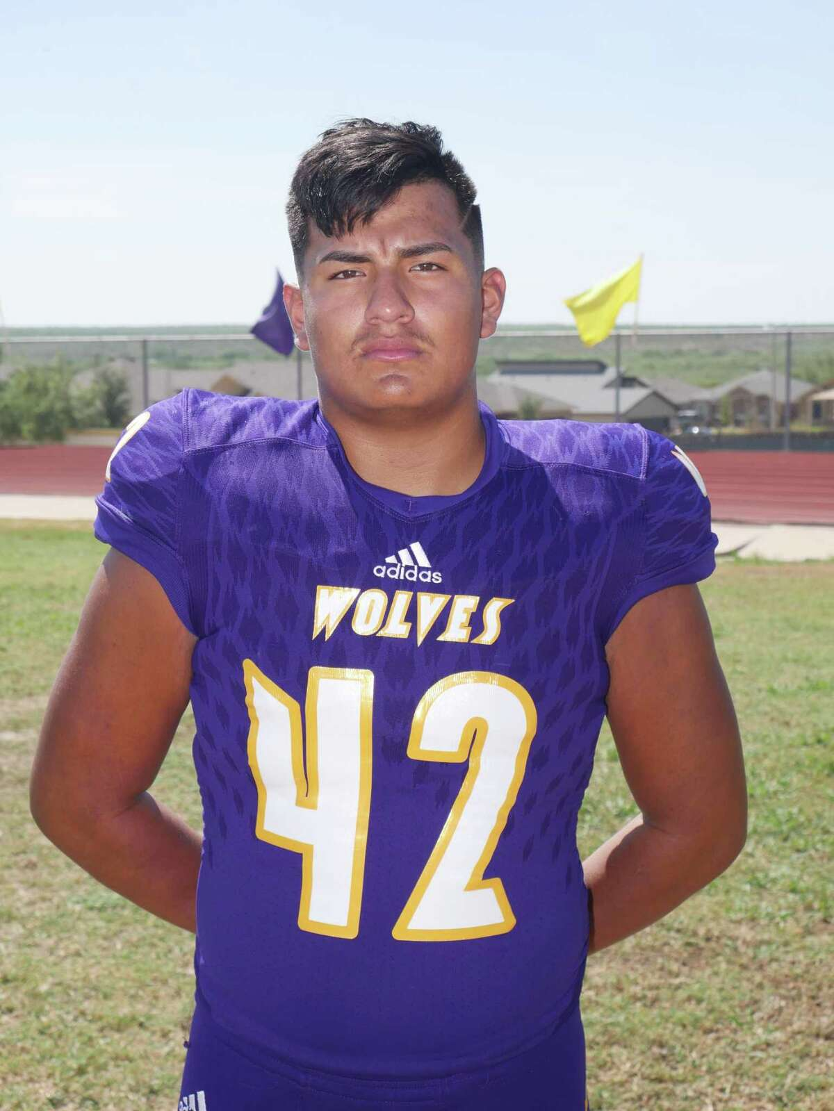 Senior MIKE linebacker Cristian Ramos has been sidelined to begin the season because of a sprained elbow.