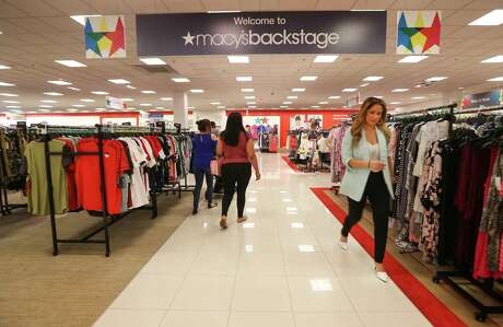 The new Macy's Backstage store Friday, April 13, 2018, in Pearland. Macy's is launching its first Backstage store in the Houston area, carving out a space in its Pearland store for a 14,000-square-foot section offering apparel and accessories at up to an 80 percent discount. ( Steve Gonzales / Houston Chronicle )