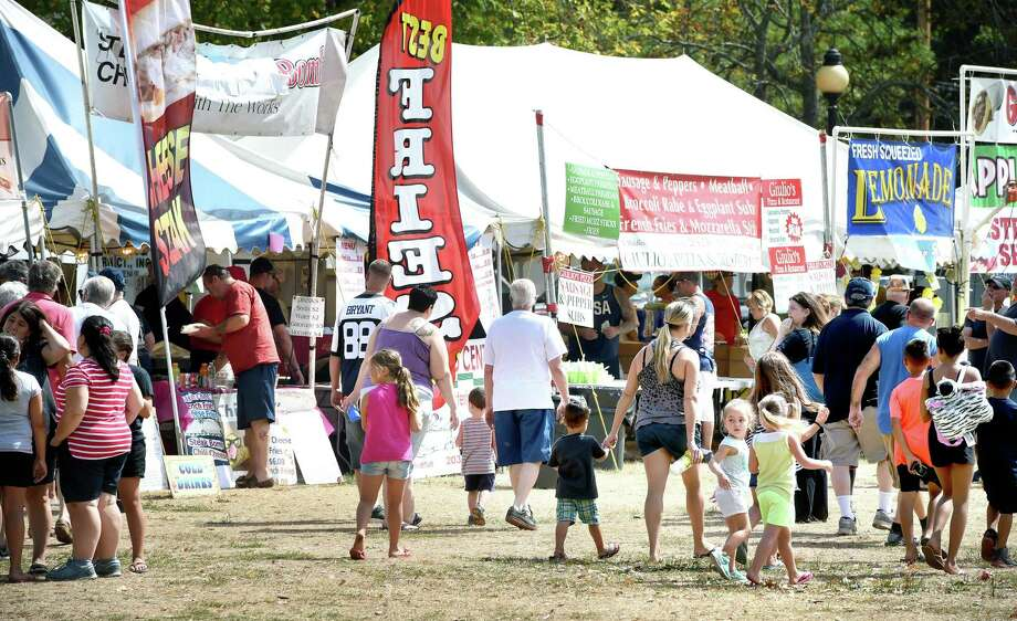 A scene from a past East Haven Fall Festival. Photo: Hearst Connecticut Media File