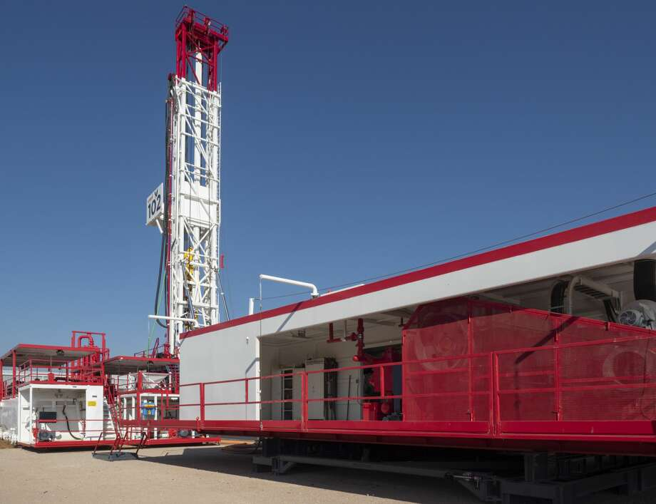 New, ulra-portable drilling rig by Lasso Drilling. 09/03/19  Tim Fischer/Reporter-Telegram Photo: Tim Fischer/Midland Reporter-Telegram