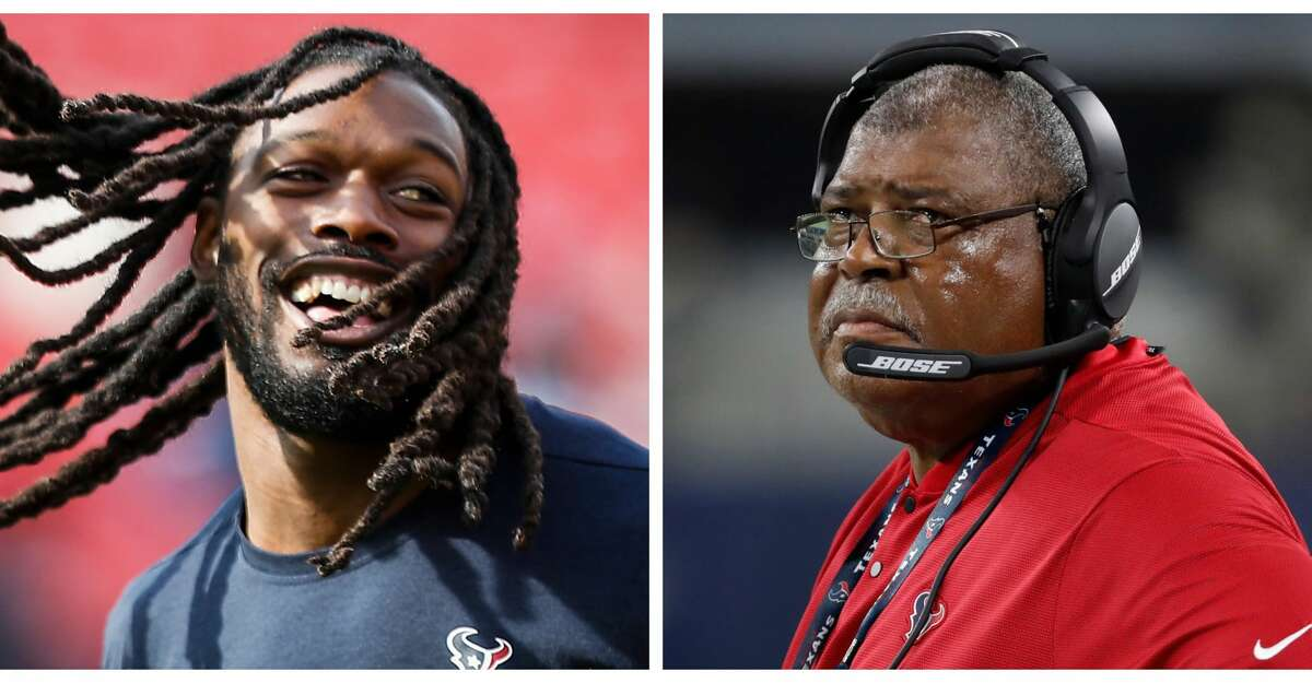 PHOTOS: Things to know Split photo of Jadeveon Clowney and Texans defensive coordinator Romeo Crennel. Browse through the photos to see things to know about new Texans players Laremy Tunsil, Kenny Stills and Carlos Hyde.