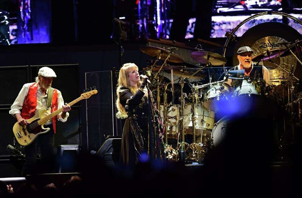 Fleetwood Mac performs at the Times Union Center during their farewell tour on Wednesday, March 20, 2019 in Albany, N.Y. (Lori Van Buren/Times Union)