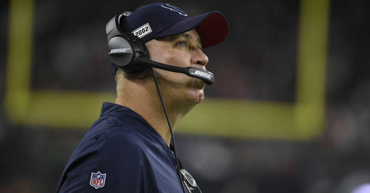 Houston Texans head coach Bill O'Brien watches from the sideline during the first half of a preseason NFL football game against the Los Angeles Rams Thursday, Aug. 29, 2019, in Houston. (AP Photo/Eric Christian Smith)