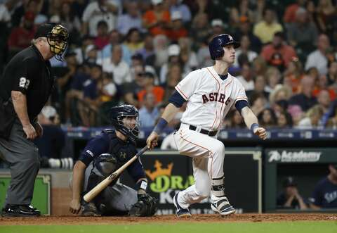 Astros' Kyle Tucker crushes first career homer - San Antonio