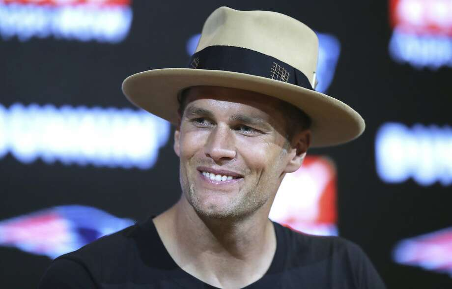 New England Patriots quarterback Tom Brady speaks to the media following an NFL preseason football game against the Carolina Panthers, Thursday, Aug. 22, 2019, in Foxborough, Mass. (AP Photo/Charles Krupa) Photo: Charles Krupa / Associated Press