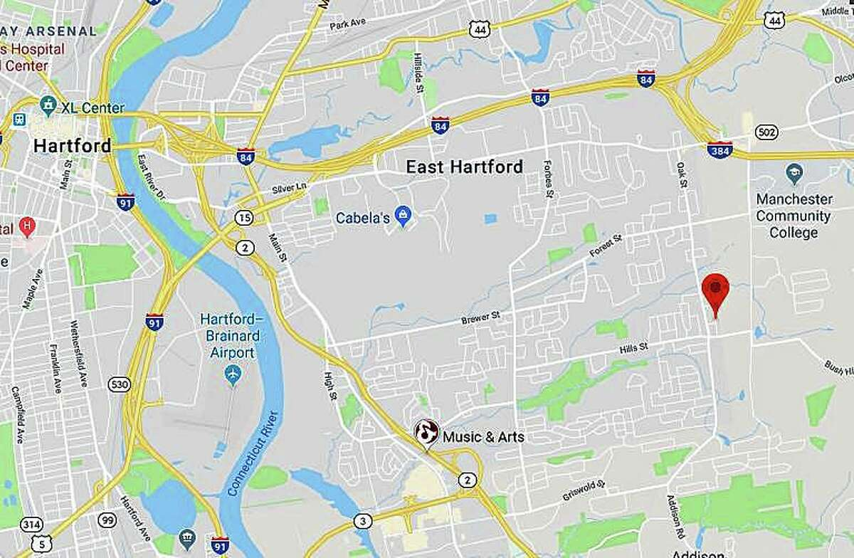 One man is dead and three others were injured after an officer-involved shooting during a domestic violence incident on Skyline Drive in East Hartford on Thursday, Sept. 5, 2019.