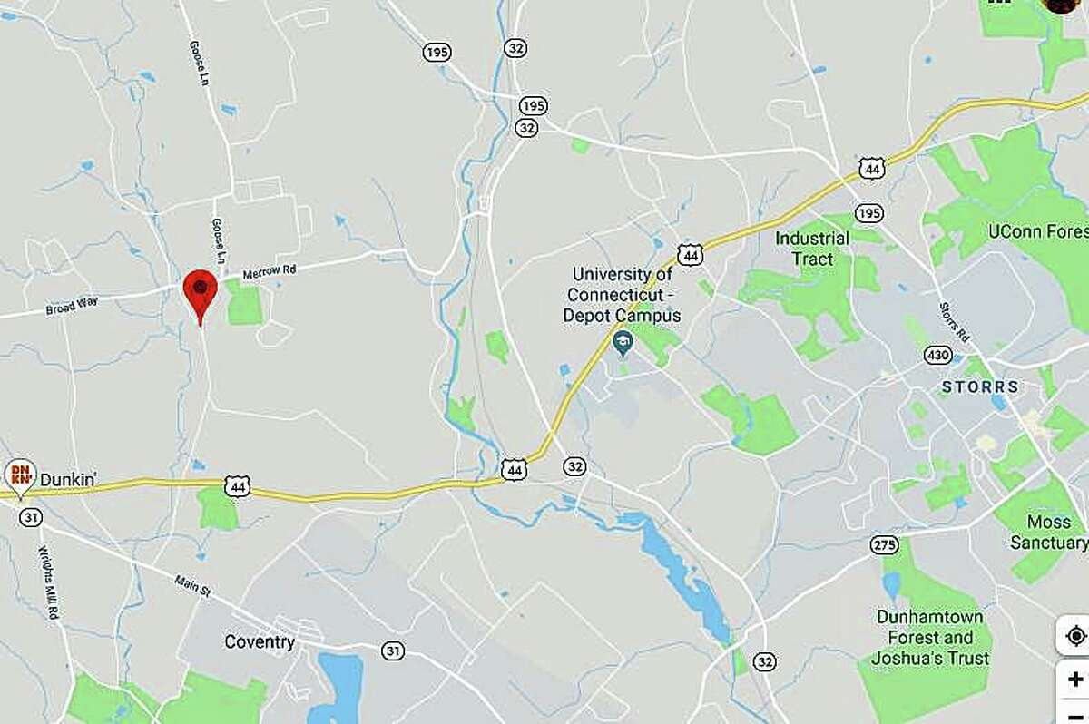 The National Weather Service has confirmed that a tornado touched down in northeast Connecticut on Wednesday, Sept. 4, 2019. The EF-1 tornado traveled 3.2 mile over nine minutes in Coventry and Mansfield. Wind speed was estimated between 85 and 90 mph. An EF-1 tornado is classified as weak on the Fujita scale. The NWS said the twister first touched down tornado on North River Road in Coventry, the went through the Skungamaug River Golf Club where it damaged many trees,