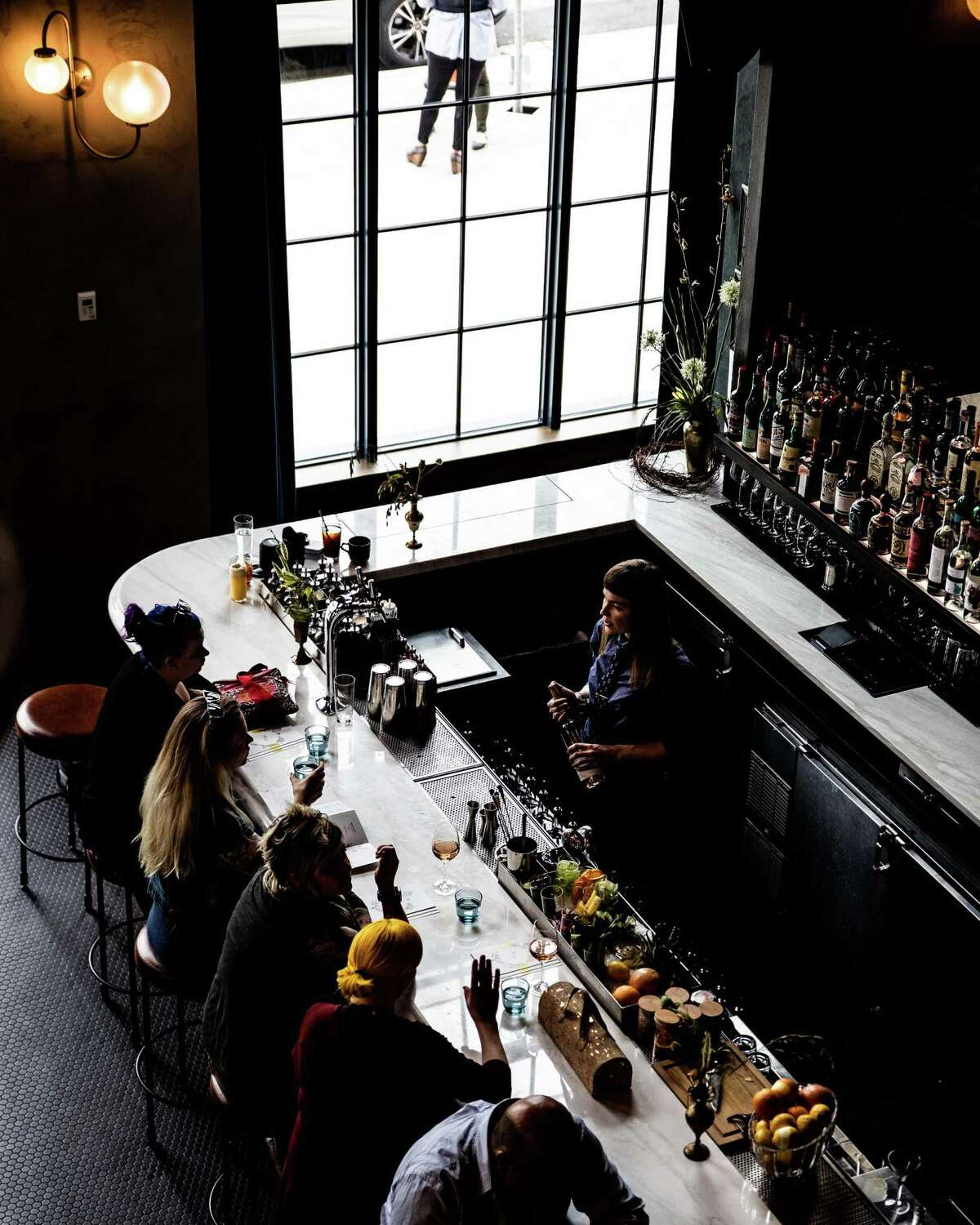 Death & Co. lobby bar at the Ramble Hotel in Denver