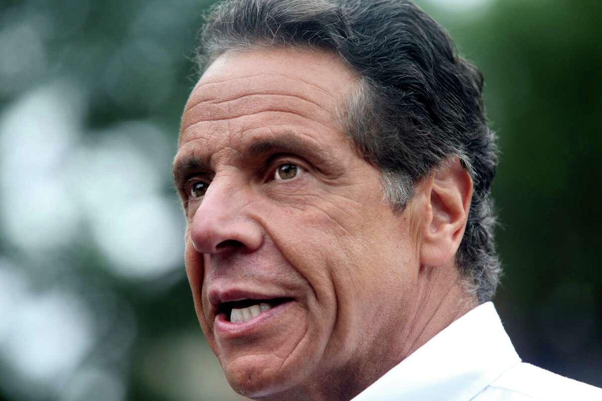 NEW YORK, NY - SEPTEMBER 02: New York Gov. Andrew Cuomo.